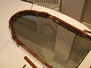 Mirror frame repairs