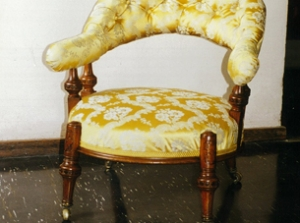 chaire upholstery