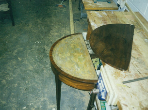 table restoration