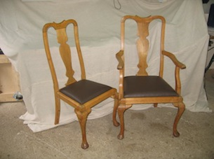 dining chair upholstery